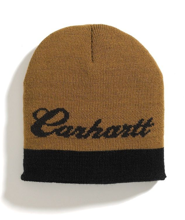 Sale Carhartt large logo knit boys hat online discover prices and offers 2a2b71f6eb7