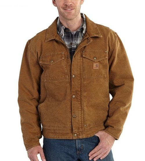 outlet a8956 d1d97 Giacca Carhartt Berwick traditional