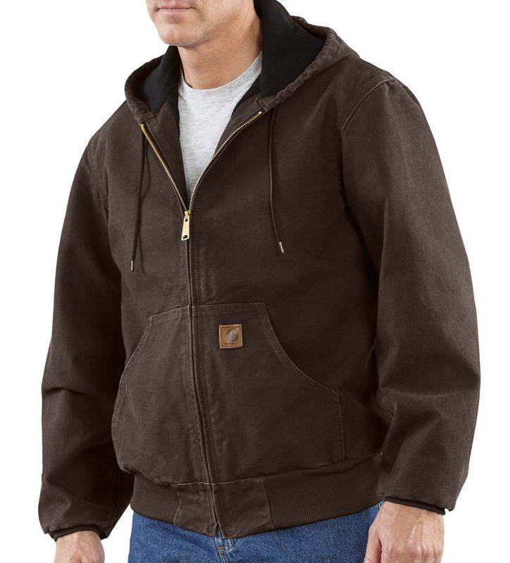 low priced d4d7d 9f9ce Giacca Carhartt Active marrone scuro