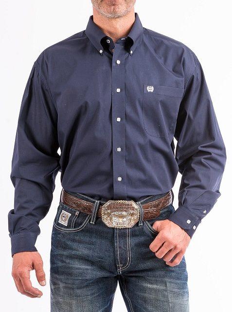 wholesale dealer 3671e 047c7 Camicia da uomo Cinch blu navy