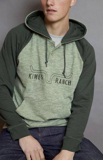 Kime Ranch man sweatshirt badlands