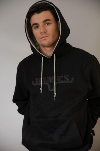 Kime Ranch man sweatshirt crusher black