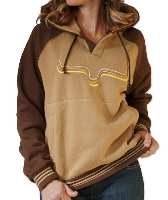 c395340a7f2 Kime Ranch woman sweatshirt sundance brown  Selleria Repetti