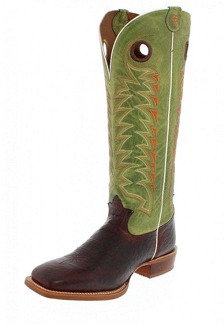 6cf4ace47ca Tony Lama western boots green