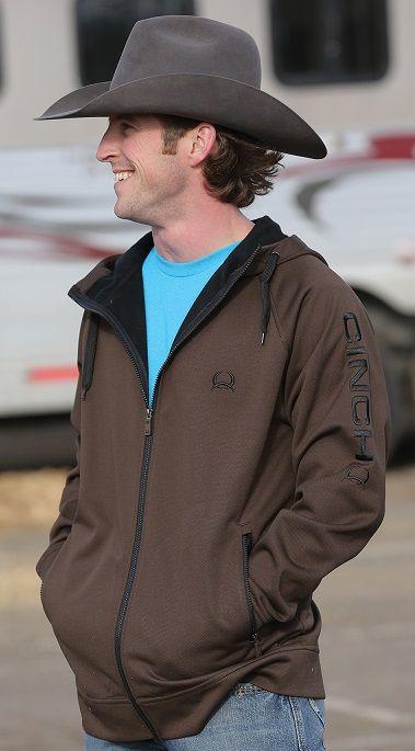 bfda77a70bf Brown Cinch sweatshirt  Selleria Repetti