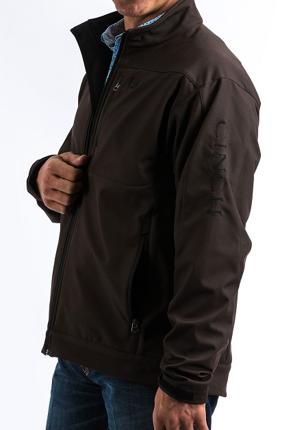 1039824b960 Cinch Jacket softshell dark brown  Selleria Repetti