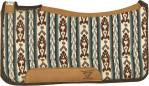 Diamond Wool Pad Contoured Ranch Cowboy River
