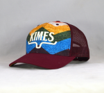 Cappellino Kimes Ranch hand bordeaux
