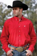 Man Shirt Cinch red