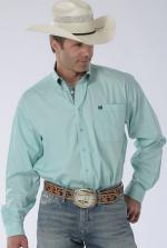 Man Shirt Cinch aqua