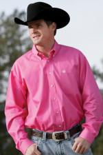 Man Shirt Cinch pink