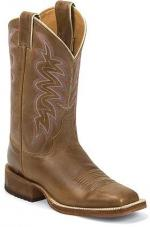 Justin western boots Cognac