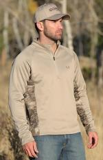 Cinch sweatshirt outdoor tan