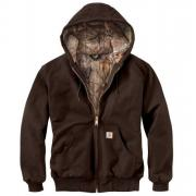 Giacca Carhartt Active marrone scuro real tree