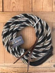 "Mecate in crine 3/4"" knot"